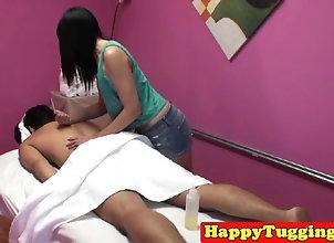 Asian masseuse...
