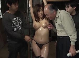 fucking,big boobs,gangbang,group,oil busty ass Asian...