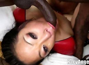 blowjob,cumshot,brunette,deepthroat,facial,face fucking FaceFuck Asians 3...