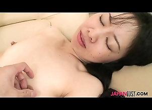 milf,blowjob,brunette,hairy,asian,japanese,small-tits,japanlust,milf Hairy pussy Japan...