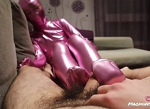 point-of-view;zentai;footjob;feet;suit;zentai-suit;pink-zentai;blowjob;traje-zentai;bodysuit;full-body-suit;pies;足交;乳胶衣;chinese;紧身衣,Asian;Amateur;Blowjob;POV;Feet;60FPS;Verified Amateurs;Verified Couples Cute Mao wears a...