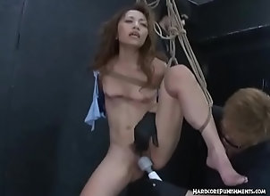 asian,bdsm,japanese,tied,bound,vibrators,orgasms,ropes,hairy-pussy,multiple-vibrators,group-bdsm,asian_woman Juicy Japanese...
