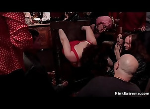 fucking,hardcore,rough,gagging,group,asian,bdsm,fetish,bondage,submission,slave,orgy,bizarre,tied,pain,lezdom,flogging,bdsm Hot slaves orgy...