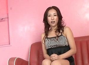 Asian,Toys,Solo Girls,asian,solo girl,Toys,masturbating,natural tits Yuu Uehara plays...