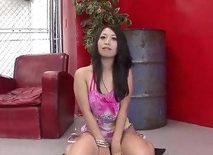 Asian,MILF,Brunette,mom,hot milf,group action,mmf,cock sucking,asian,threesome,brunette Nana Kunimi cock...