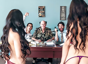 Threesome,Blowjob,Spanking,Deep Throat,Missionary,HD,Doggystyle,Riding,Tits Fucking,Office Sex,Asian,Brunette,Long Hair,Curly Hair,Tattoo,Shaved Pussy,Big Tits,Pornstars/Babes,Hardcore The Gang Makes a...