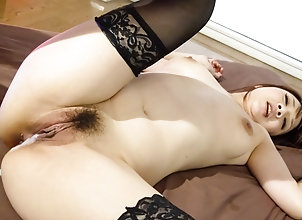 Asian,Creampie,Japanese,Stockings,Hardcore,MILF,MMF,Threesome,Group Sex,Hairy,sexy lingerie,group action,mmf,black stockings,doggy-style,hardcore action,cock sucking,creamed pussy Threesome sex...