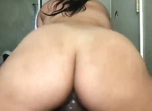 thick-asian;reverse-cowgirl,Asian;Big Ass;Babe;Brunette;Teen;POV;Korean;60FPS My Korean wife...