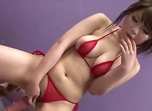 Asian,Big Tits,busty,mini bikini,dildo riding,tit squeezing,cock sucking,group action,mmf,cum on tits,tit fuck,tits,asian,japanese Amazing trio...