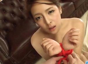Asian,Japanese,Lingerie,Bondage,mom,hot milf,pink lingerie,masturbation,vibrator,cock sucking,cum in mouth Lingerie model,...