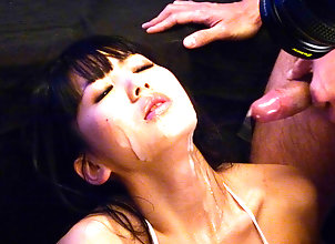 Asian,Cumshot,Japanese,Facial,Hardcore,Blowjob,MILF,sexy lingerie,vibrator,toy insertion,cum on face Powerful Asian...