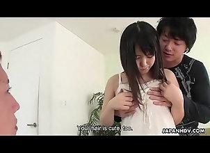 teen,creampie,blowjob,brunette,threesome,asian,pussy-licking,close-up,shaved-pussy,japanese,japan,jav,uncensored,english-subtitles,spit-roasting,asian_woman Japanese teen...