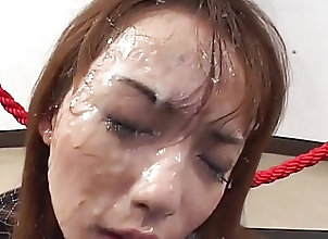 Uncensored;Asian;Japanese;Bukkake;Cum Swallowing ppp 033 bukkake +...