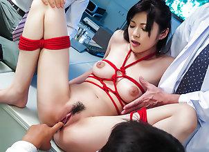 Asian,Japanese,MILF,Big Tits,Trimmed Pussy,Hardcore,Natural Tits Sara Yurikawa...