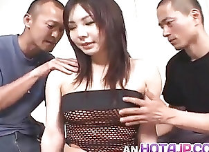 Anal;Asian;Blowjobs;Creampie;Japanese;Fucked in Ass;In Ass;Ass Fucked;Fucked;All Japanese Pass Riho Matsuoka is...