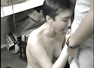 Amateur;Asian;Threesomes;Part 2;In Bar;2 Dicks;Bar Korean ex-model...