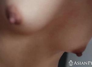 Asian,Brunette A horny dude...