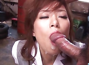 Asian;Cumshots;Japanese;Lingerie;Squirting;Sucking Cock;Threesome;Sucking;Jav HD Dashing threesome...