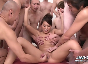 Asian,Hardcore,Japanese,Gang Bang,Amateur,Threesome,Group Sex,Brunette Real Japanese...