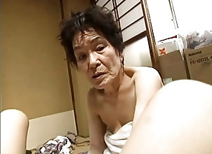 Asian;Grannies;Asian Granny;Granny Asian Trio with...
