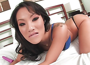 Asian;Brunettes;Masturbation;Pornstars;Sex Toys;HD Videos;Asian Bed;In Bed;Intimate;1 Girl 1 Camera Asian pornstar...