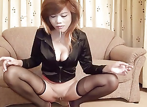 Anal;Asian;Blowjobs;Facials;Stockings Asiatica Anal