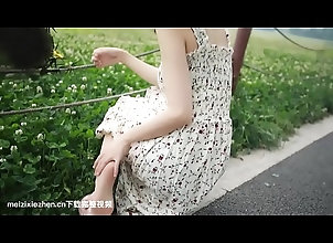 chinese,leg,asian_woman 田园萌妹自�...