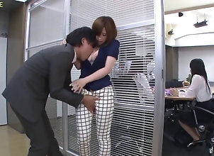 asian,cutie,fondling office passion is...