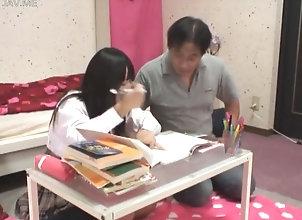 asian,japanese,petite tutor is making...