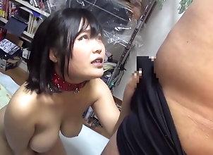 slut,asian,bdsm,busty,creampie Asian slut has a...