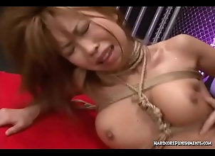 gagging,asian,domination,bdsm,bondage,submission,japanese,hair-pulling,choking,ropes,face-fuck,hairy-pussy,double-ender,mmf-threesome,tit-bondage,rope-around-throat,bdsm Hot MMF Threesome...