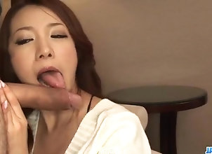Asian,Blowjob,Japanese,nice ass,short skirt,posing,hand work,cock sucking,upskirt,vibrator,cum on face,cfnm Kanako Tsuchiyo...