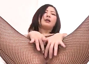 Asian,Toys,Masturbation,masturbation,sex toys,vibrator,asian,fishnet,fingering,Toys,blowjob Megumi Haruka...