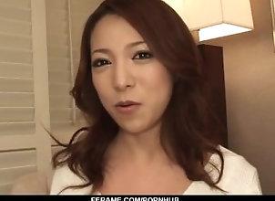 ferame;nice-ass;short-skirt;posing;hand-work;cock-sucking;upskirt;vibrator;cum-on-face;cfnm,Asian;Blowjob;Cumshots;Japanese Special cock...