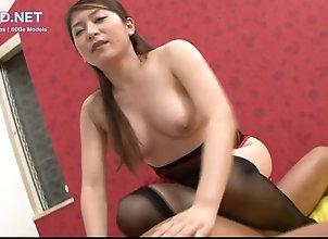 Amateur,Asian,Japanese,Doggystyle,Stockings,Uniform Sexy Japanese...