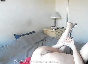mom;mother;masturbate;butt;chineses,Asian;Big Ass;Masturbation;MILF Chinese Wife Tied...