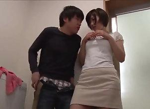 Big Tits,Asian,Japanese,Handjob,MILF Beautiful Busty...