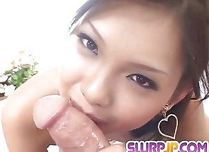 Asian;Bikini;Blowjobs;Cumshots;Japanese;Manners;Sloppy;Ferame Mimi bloes fat...