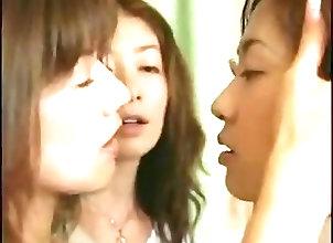 Asian;Babes;Japanese;Kissing;Lesbians;Lesbians Seduce Girl;Two Lesbians;Asian Girl Two Asian...
