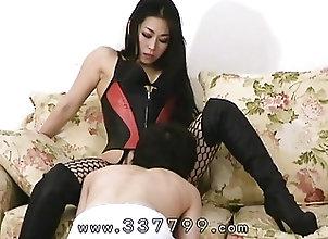 BDSM;Japanese;Femdom;Cunnilingus;Slave;Mistress Land A slave serve the...