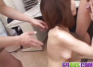Asian;Cumshots;Group Sex;Hardcore;Japanese;At Work;Nasty;Av 69 Jun Kusanagi gets...