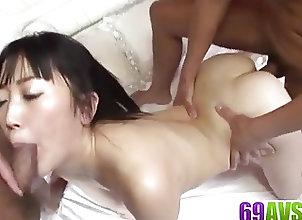 Anal;Asian;Blowjobs;Bondage;Japanese;Long Dick;Long;Av 69 Hello Mikity gets...
