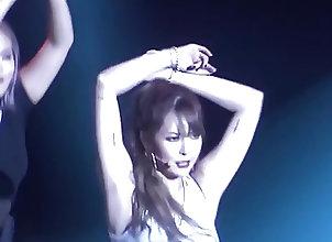 Asian;Babes;Celebrities;Korean;HD Videos HyunA red fancam