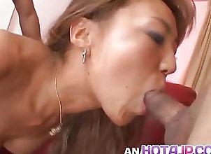 Asian;Creampie;Cumshots;Facials;Japanese;All Japanese Pass Mari Amamiya has...
