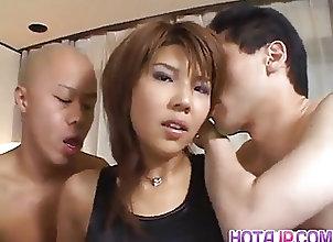 Asian;Blowjobs;Facials;Group Sex;Japanese;Pink Lingerie;All Japanese Pass Oshima Karen in...
