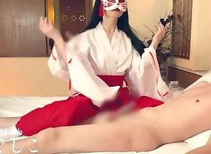 edging;japanese;japan;cfnm;japanese-cosplay;tease-and-denial;femdom;handjob;orgasm-control;tease;amateur;slave;cum-control;cosplay;gentle-femdom;kink,Asian;Amateur;Fetish;Handjob;Reality;Role Play;Japanese;Verified Amateurs;Cosplay 一番反応が�...