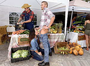 Brunette,Latina,Natural Tits,Japanese,Cheating,Reality,Outdoor,Public Nudity,Blowjob The Farmer's...