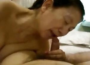 Asian;Blowjobs;Matures;Japanese;Grannies;Japanese Mature Woman;Mature Woman Blowjob Blowjob of the...