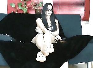 Asian;Femdom;Foot Fetish;Mistress;POV;Foot Goddess;Asian Goddess Asian Foot Goddess