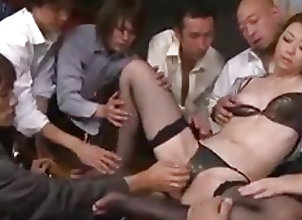 Creampie;Fingering;Gangbang;Japanese;Pussy;Creampie Gangbang;Uncensored ppp 060...